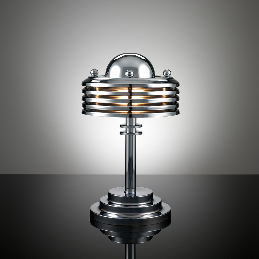 In search of art deco tarnowski division for Art deco style lamp