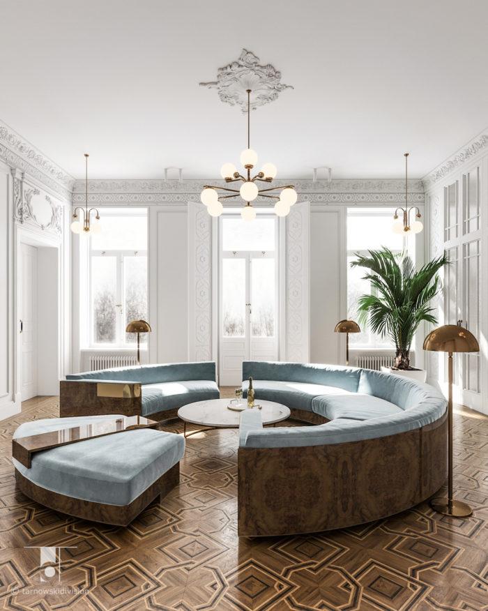 klasyczne wnętrze eleganckie wnętrza projektowanie wnętrz klasycznych projekty stylowych wnętrz stylowy salon_tarnowski division
