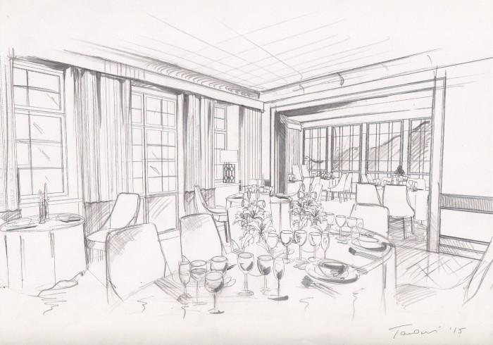 projekt wnętrz restauracji Różana Warszawa_szkic koncepcyjny_tarnowskidivision_03 copy