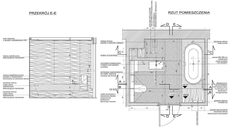 projekty i aranżacje łazienek_projekt łazienki_rys_tarnowskidivision