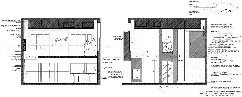 projekty i architektura wnętrz_rys 1