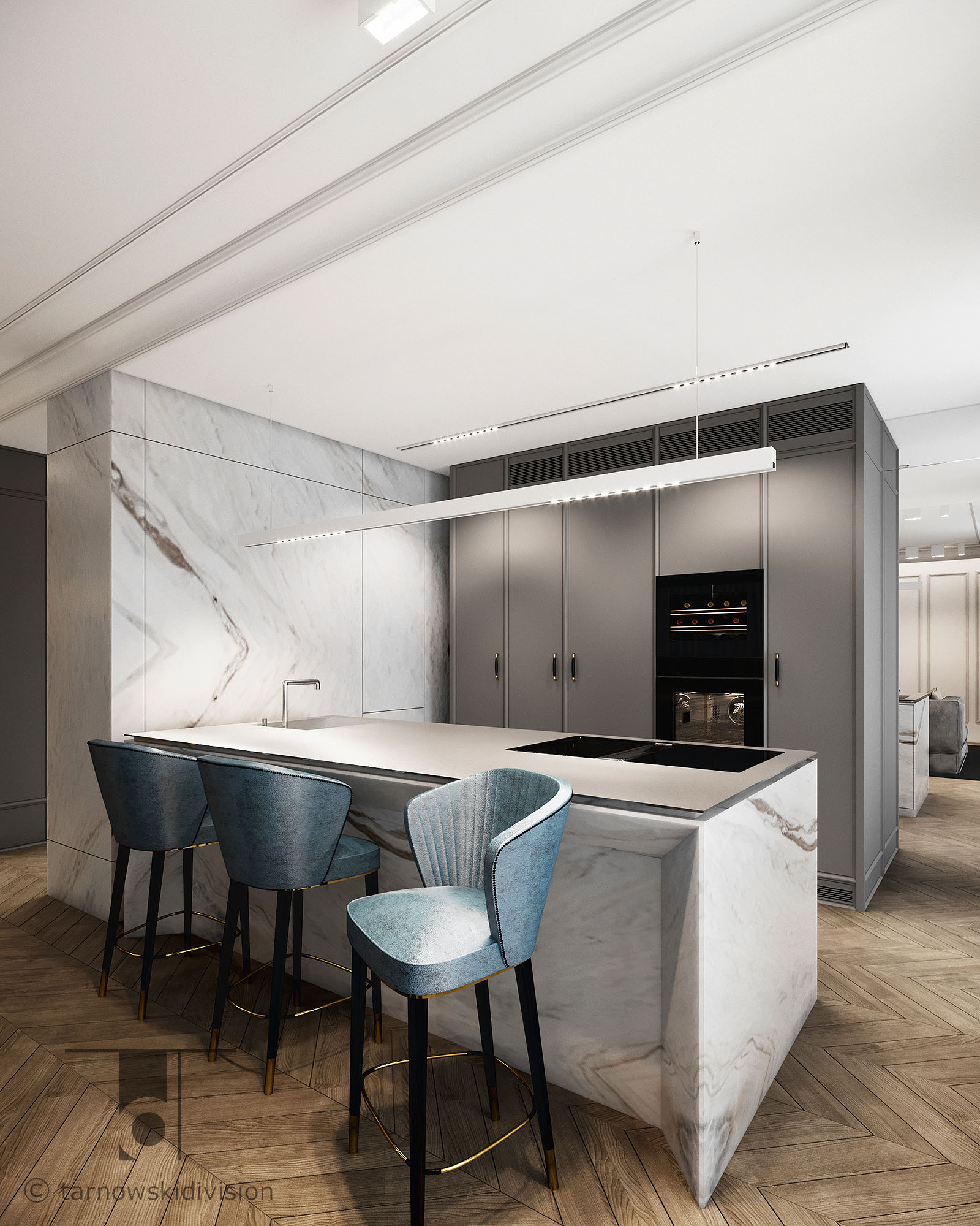 apartament_kitchen_interior design_tarnowski division