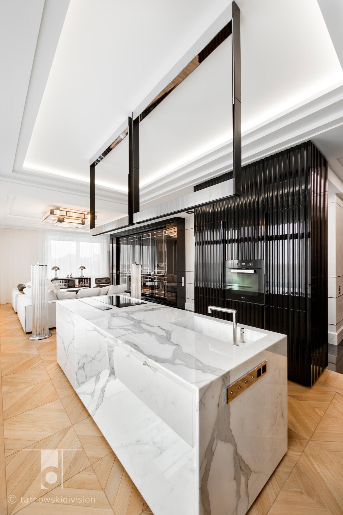 eleganckie wnętrze luksusowe wnętrze ekskluzywne projekty wnętrz ekskluzywnych luksusowa kuchnia wyspa luxury_tarnowski division