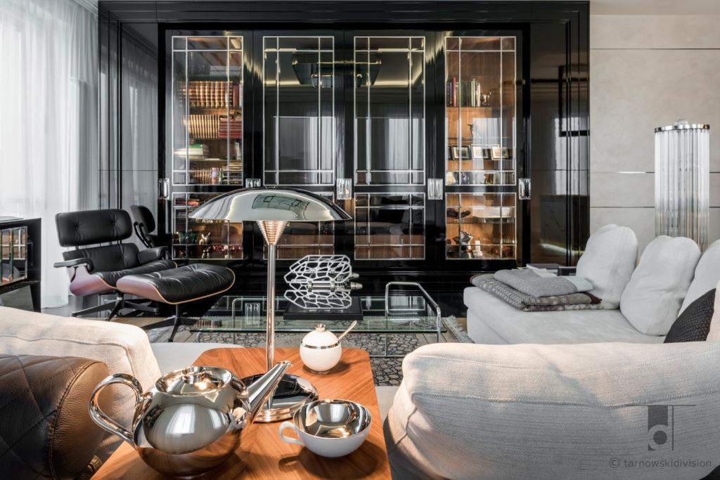 eleganckie wnętrze luksusowe wnętrze ekskluzywne projekty wnętrza art deco ekskluzywne luxury apartament_tarnowski division