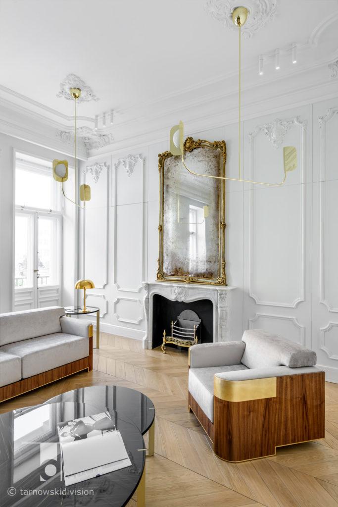 wystrój wnętrz aranżacja wnętrz architekci wnętrz wnętrza stylowe projekty wnętrz francuskich wnętrza francuskie_tarnowski division