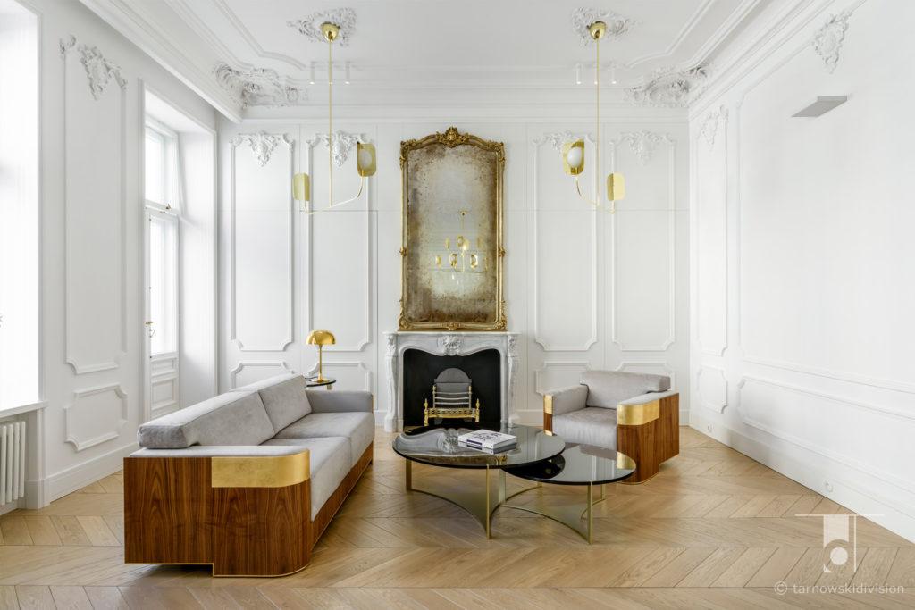 wystrój wnętrz aranżacja wnętrz projekty wnętrz stylowych projekty wnętrz francuskich wnętrza francuskie_tarnowski division