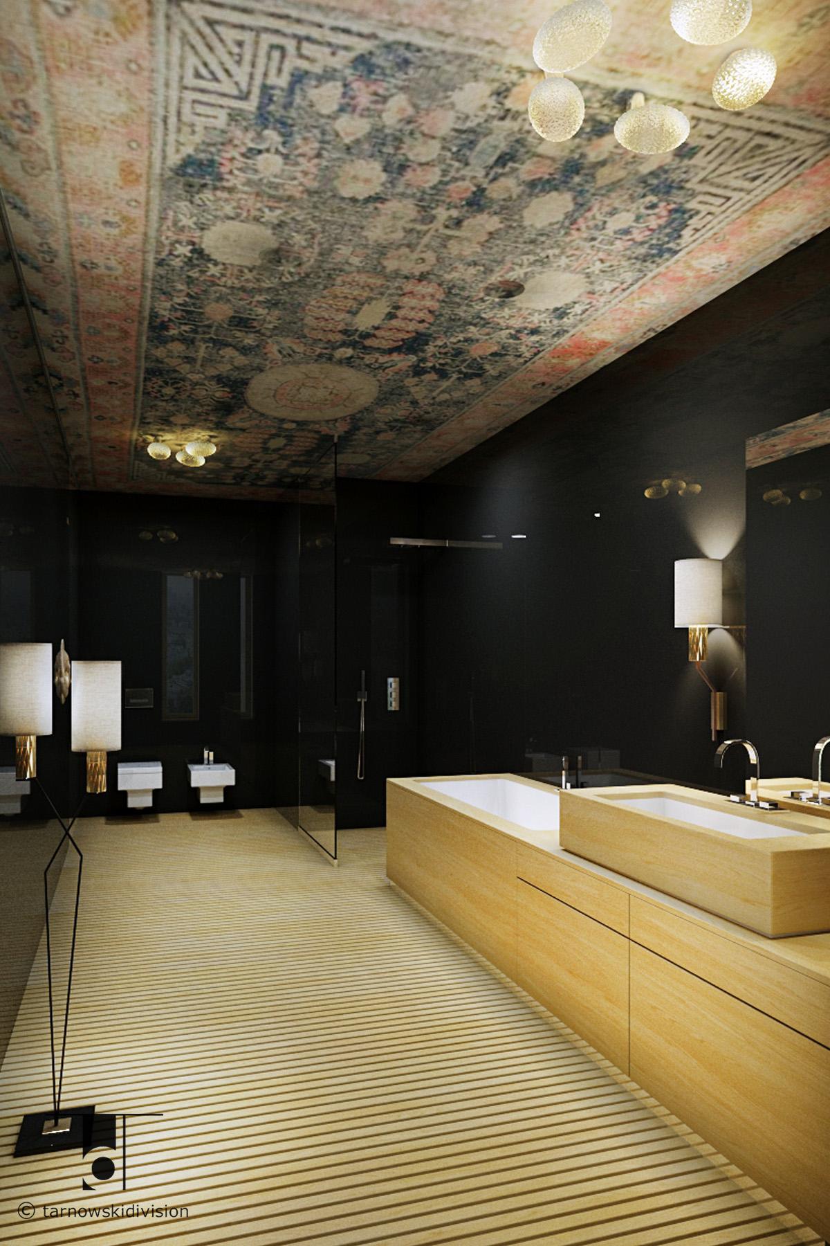 nowoczesna łazienka aranżacja wnętrz wystrój wnętrz łazienki modern luxury bathroom interior design_tarnowski division