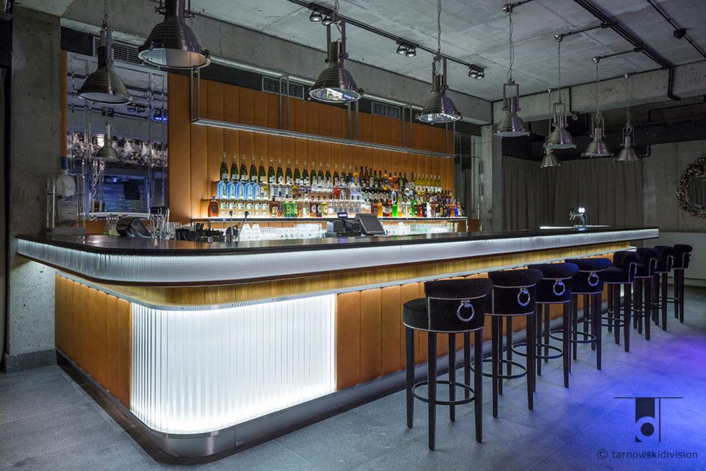 bar klub Scandale Zakopane hotel Aries projekt baru wnętrze klubu bar music loft club interior design_tarnowskidivision