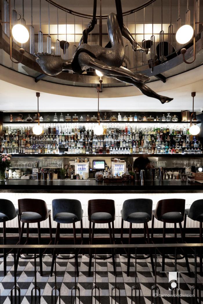 bar restauracja Scandale Royale projekt baru wnętrza bar restaurant interior design_tarnowskidivision