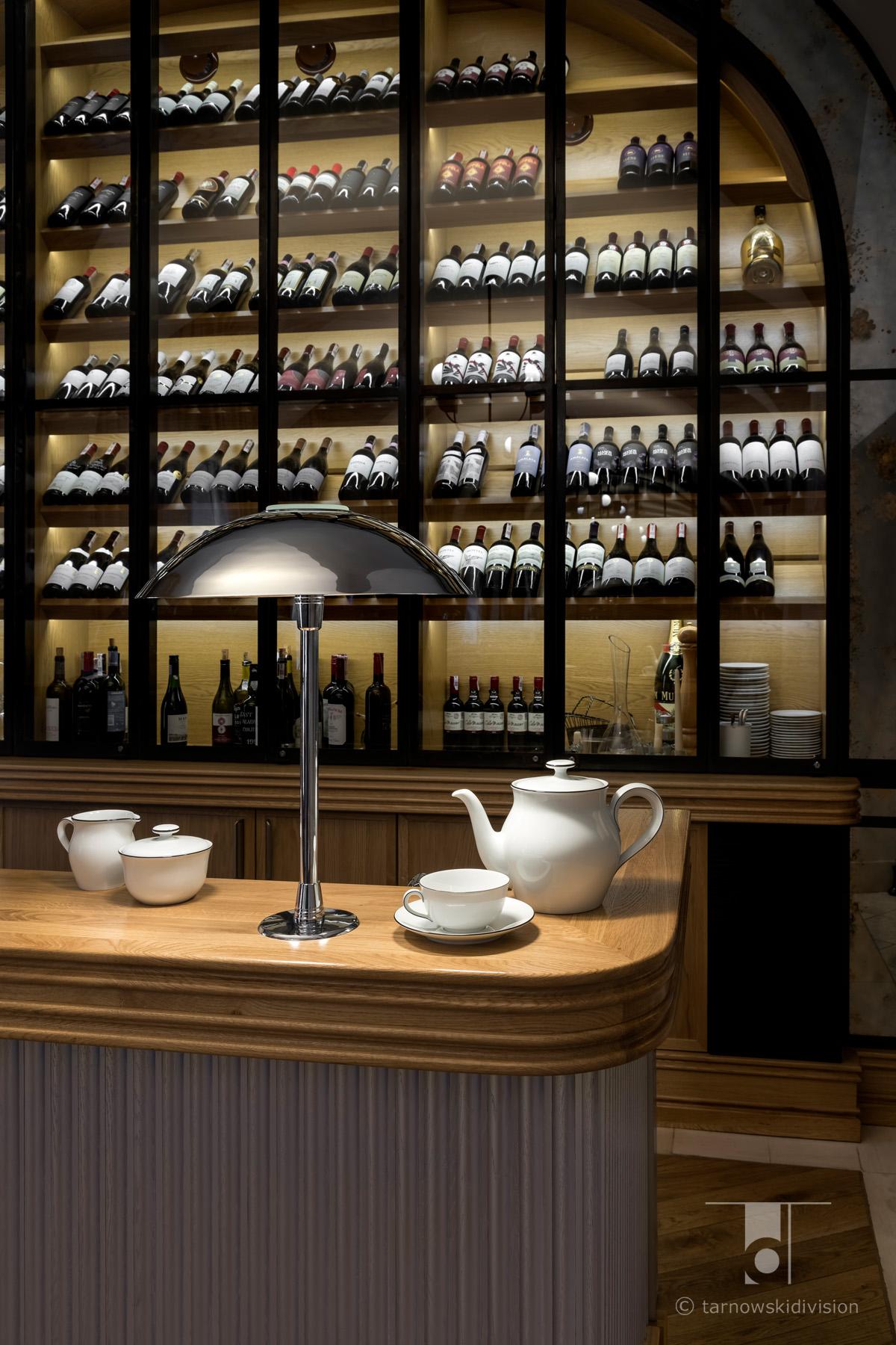 La Rotisserie Mamaison Hotel Le Regina restauracja projekt wnętrz restauracji restaurant interior design_tarnowskidivision