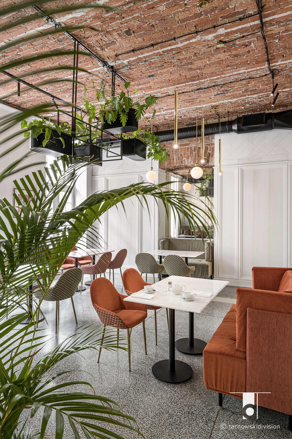 PamPam restauracja projekt wnętrz restauracji restaurant interior design_tarnowskidivision