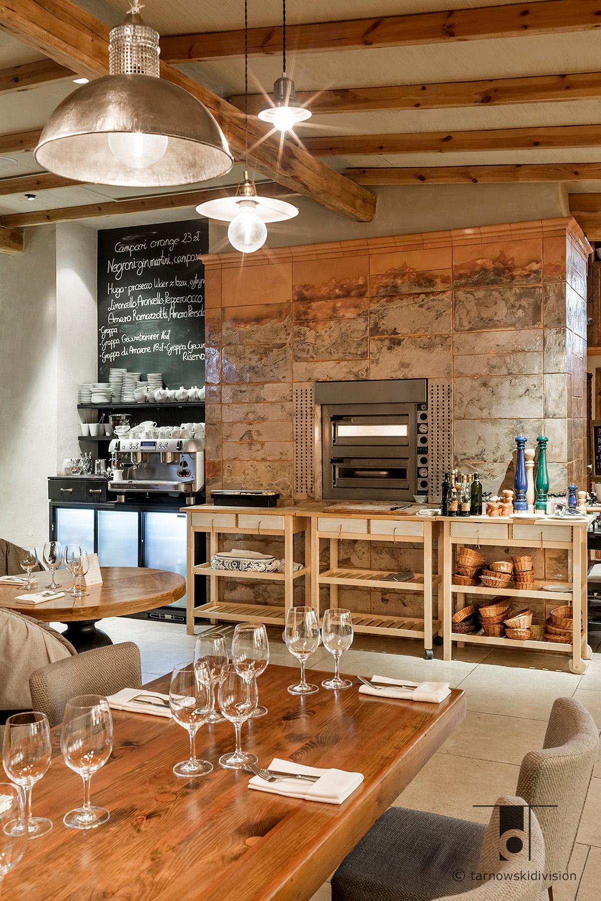 projekt wnętrz restauracja włoska Chianti italian restaurant interior design_tarnowskidivision