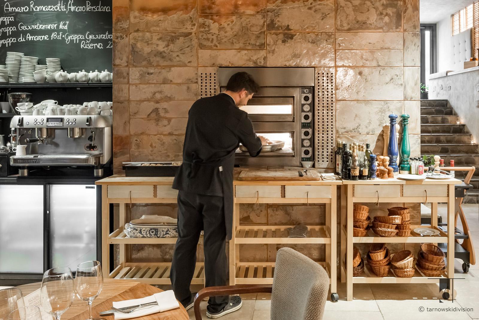 projekt wnętrz restauracji włoskiej Chianti restauracja italian restaurant interior design_tarnowskidivision