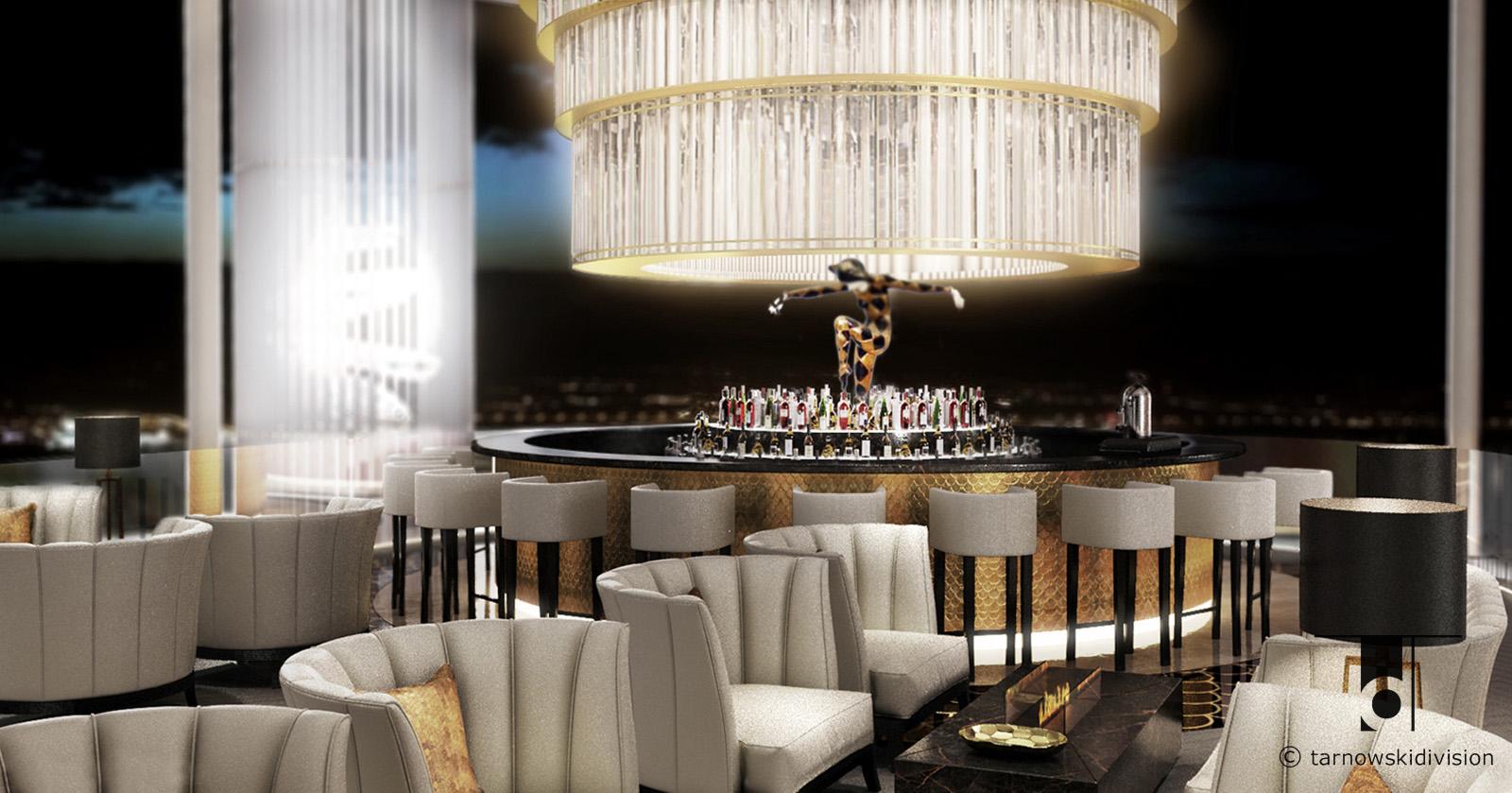 pub bar restauracja Harlequin projekt baru wnętrza bar restaurant interior design_tarnowskidivision