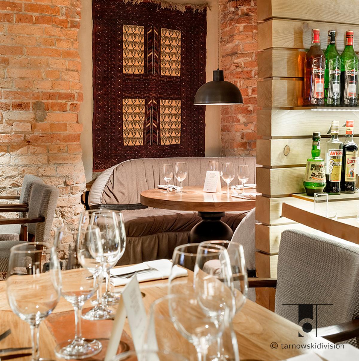 restauracja włoska Chianti projekt wnętrz restauracji italian restaurant interior design_tarnowskidivision