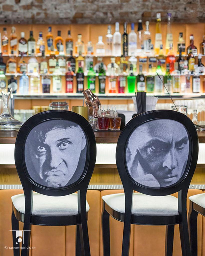 wnętrze baru restauracji Scandale Zakopane cocktail bar projekt restaurant interior design_tarnowskidivision