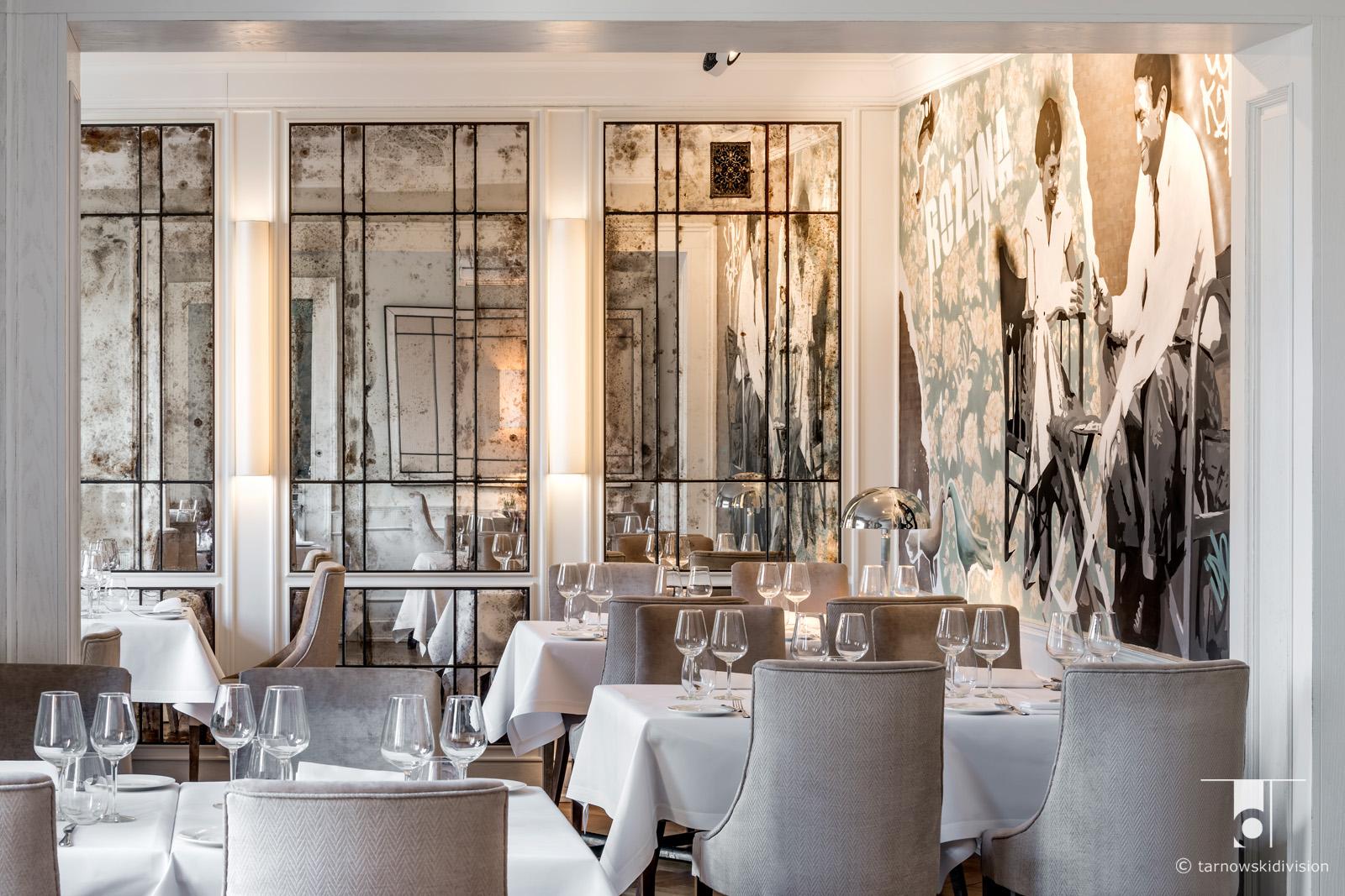 wnętrze restauracji polskiej Różana restauracja projekt wnętrz restaurant interior design_tarnowskidivision