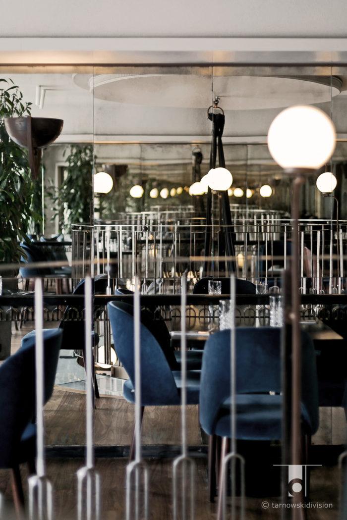 wnętrze restauracji Scandale Royale Krakow restauracja projekt wnętrz restaurant interior design_tarnowskidivision